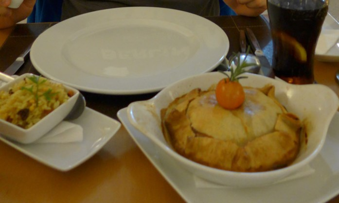 Pelo Alentejo de mota. Restaurantes Tradicionais em Évora. Empada de Perdiz