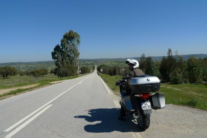 Pelo Alentejo de mota