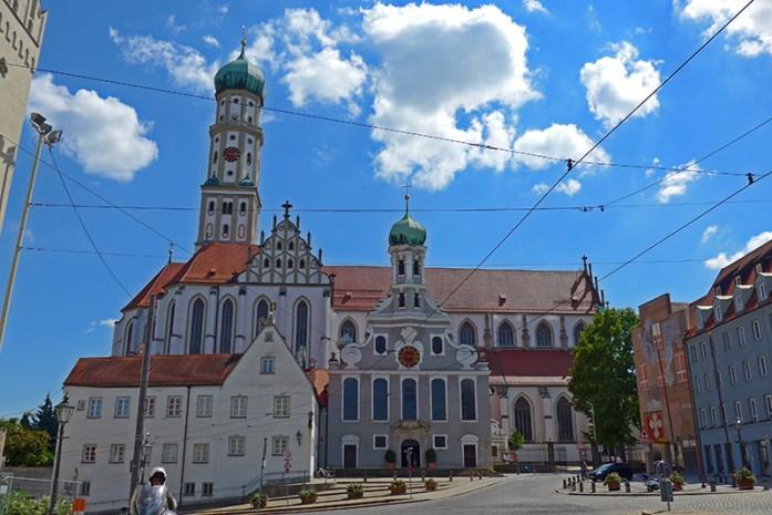 Igrejas deSt. Ulrich and St. Afra em Ausgburg