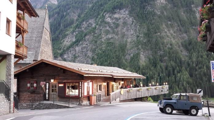 Restaurante Kirchenwirt em Heiligenblut.