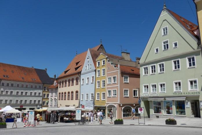 Romantic Road em Landsberg am Lech