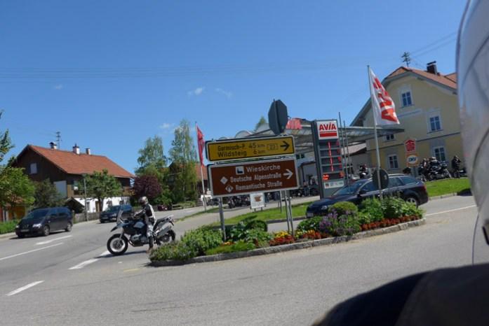 Onde a Romantic Road e a Deutschland Alpenstrasse se cruzam.