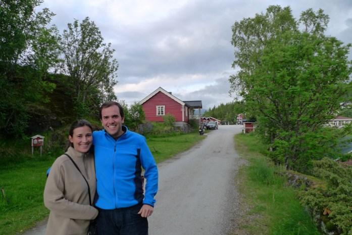 Alojamento na Noruega. Yttervik Camping em Mo I Rana