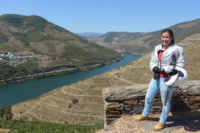 Pelo Douro Vinhateiro numa viagem de mota. Entre São Cristóvão do Douro e Ferrão.