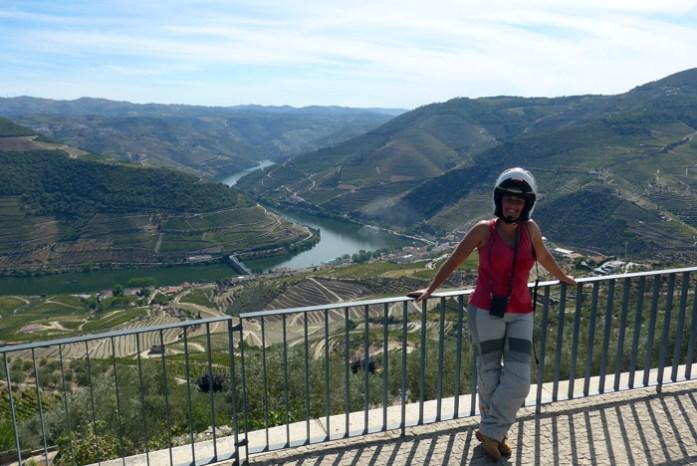 Douro Vinhateiro numa viagem de mota