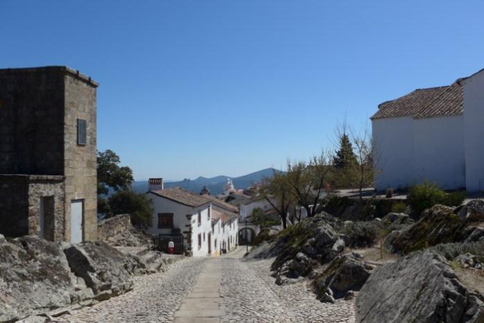 De mota pelas melhores estradas de Portugal. Castelo de Marvão