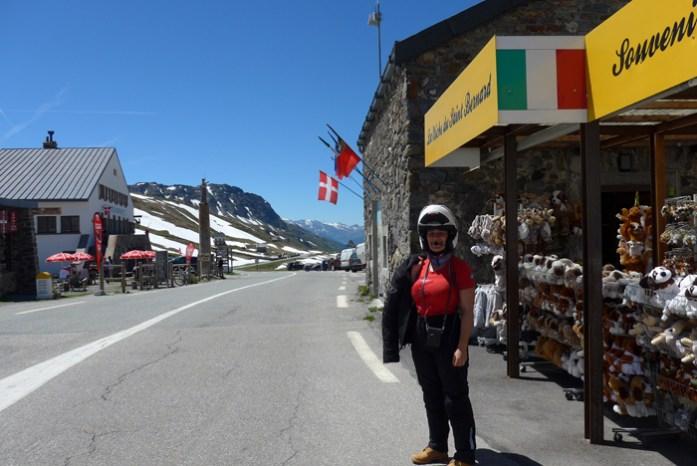 Nas melhores Estradas dos Alpes Franceses. Col du Petit Saint Bernard.