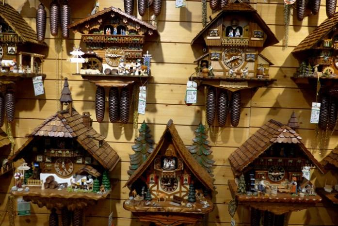 Rota panorâmica da Floresta Negra. Casa de Relógios em Triberg.