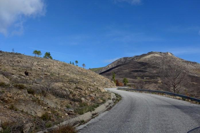 Roteiro de viagem de mota pela Serra da Estrela. Unhais da Serra