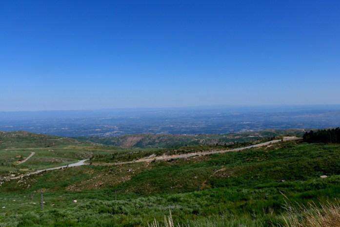 Roteiro de viagem de mota pela Serra da Estrela.