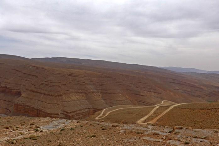 Viagem de mota a Marrocos.