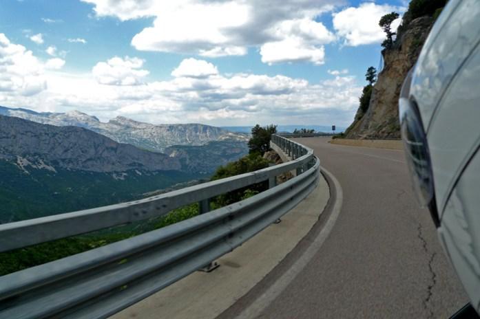 Passo Genna Silana Melhores estradas percorridas