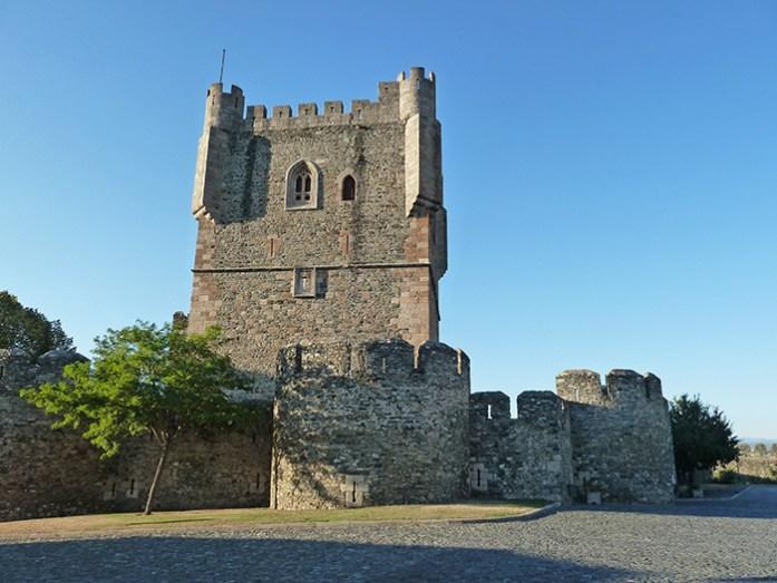Castelo de Bragança e a sua Torre de Menagem.