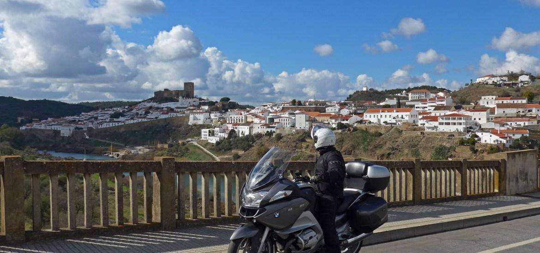 Viagens de mota por Portugal. Parque Natural do Vale do Guadiana