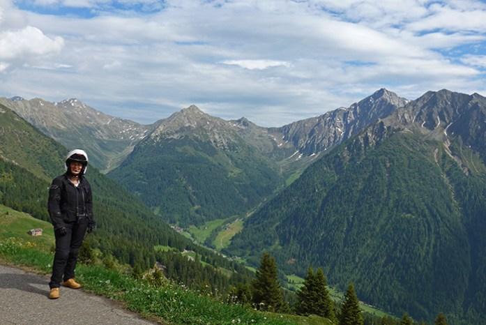 Jaufen pass. Alpes Italianos