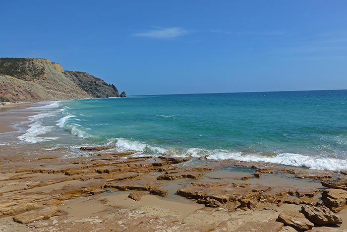 Praia da Luz. Algarve
