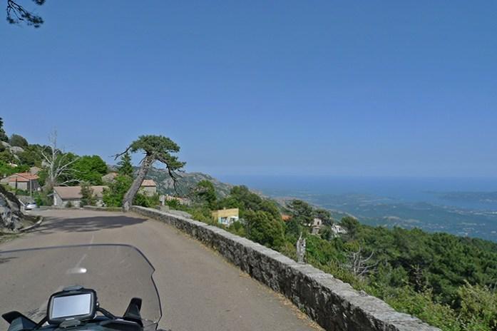 Col de Bavella, estrada D268. Córsega
