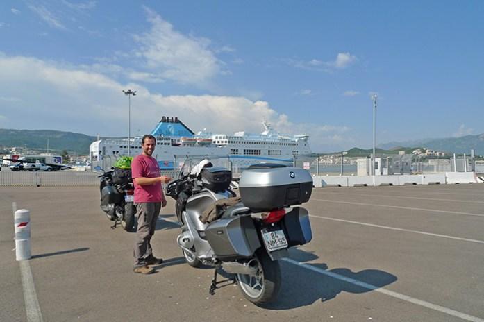 Ferry Ajaccio - Marselha. La Meridionale