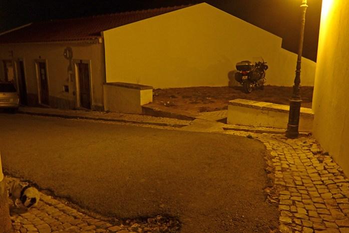 Em Vila do Bispo.