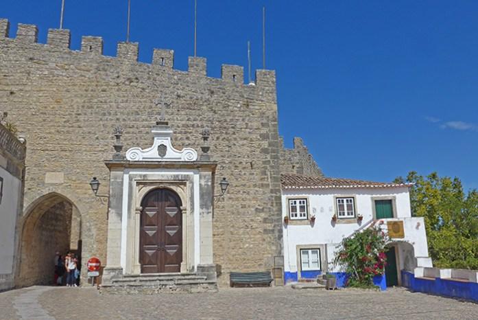 Porta da Vila de Óbidos.