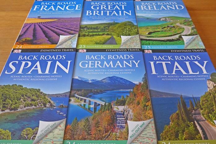 Guias de viagem DK Eyewitness Back Roads para descobrir as melhores estradas