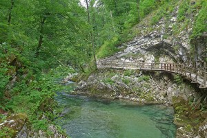 Gargantas de Vintgar, Eslovénia
