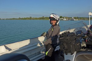 Travessia de ferry, Lago Balaton, Hungria