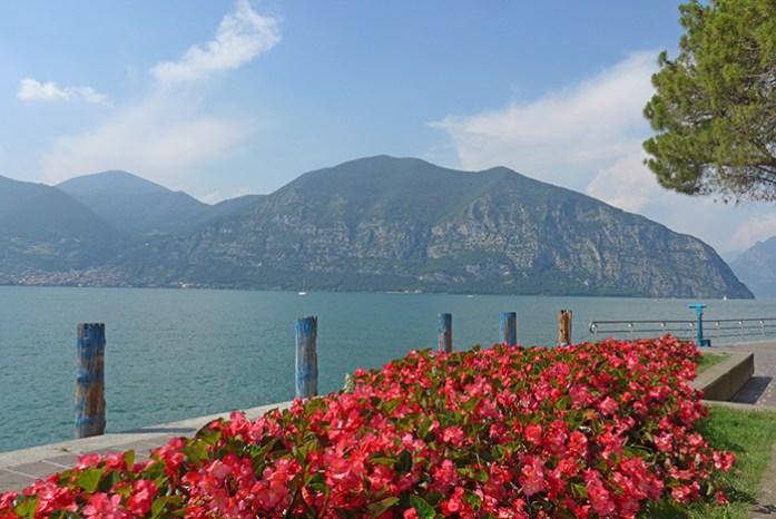 Lago D'Iseo. Itália