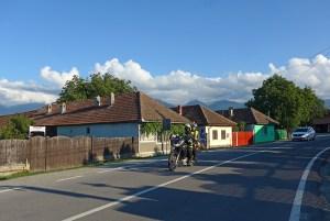 Cartisoara, Transilvânia, Viagem de mota à Roménia