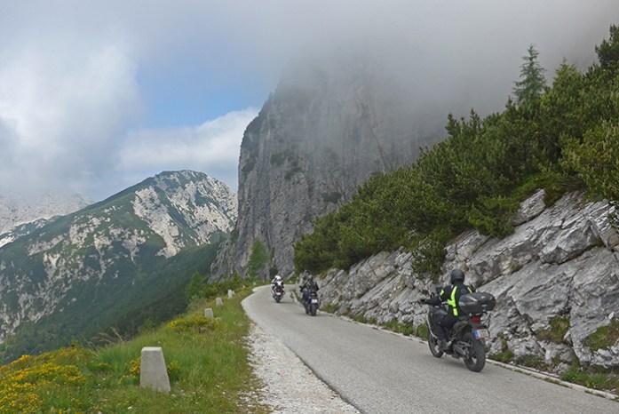 Mangart pass. Locais a não perder na Eslovénia.