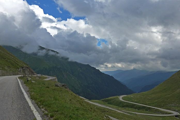 Transfagarasan, lado sul região de Arges.