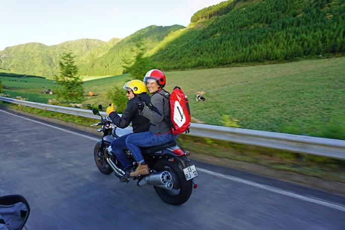 Roteiro de viagem de mota pela Ilha de São Miguel