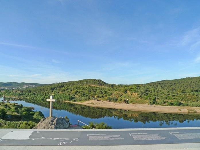 Estrada N118. Margem Sul do Tejo até ao Miradouro de Almourol.
