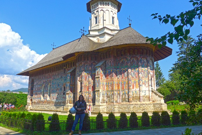 Rota dos Mosteiros de Bucovina. Mosteiro de Moldovita