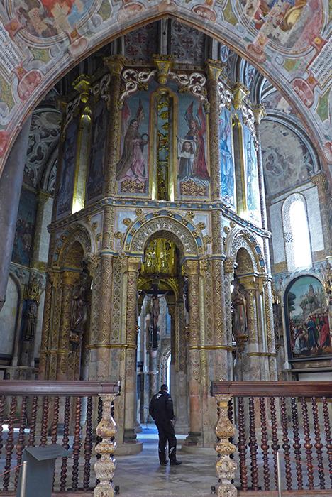 Convento de Cristo. Passeio de mota pela Rota dos Templários, Tomar