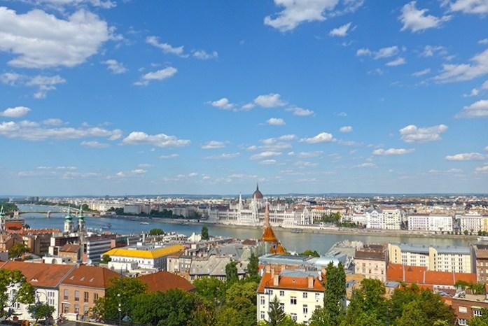 Miradouro em Buda, Budapeste. Hungria