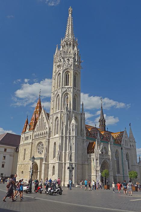 Igreja de Matias. Budapeste