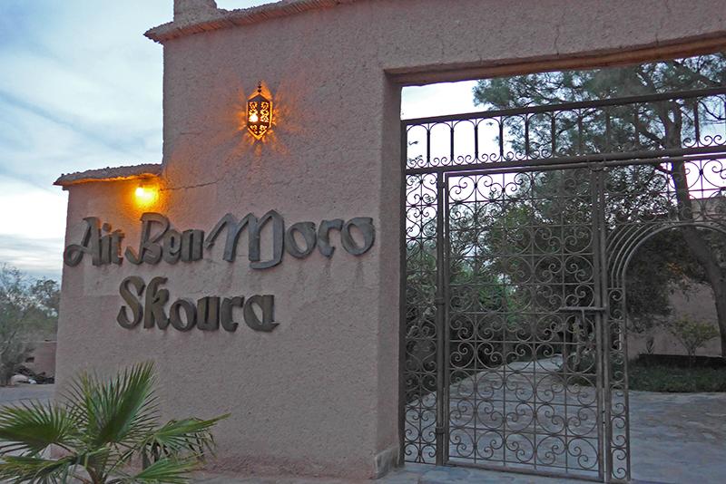 Onde dormir em Marrocos? Kasbah Ain Ben Moro Skoura