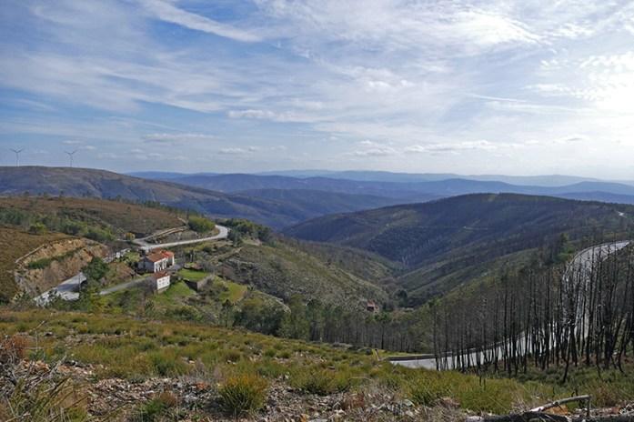 Em redor da Barragem de Santa Luzia, Aldeias do Xisto, Serra da Lousã
