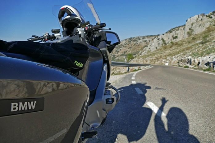 Viagem de mota pela Andaluzia. Em Sierras Subbéticas