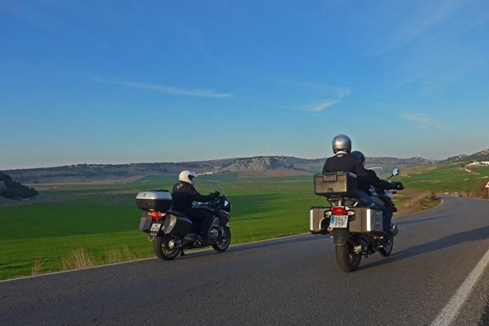 Viagem de mota pela Andaluzia. Cordilheiras Béticas