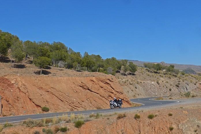 Viagem de mota pela Andaluzia: Em Canjayar
