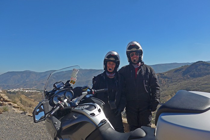 Viagem de mota pela Andaluzia