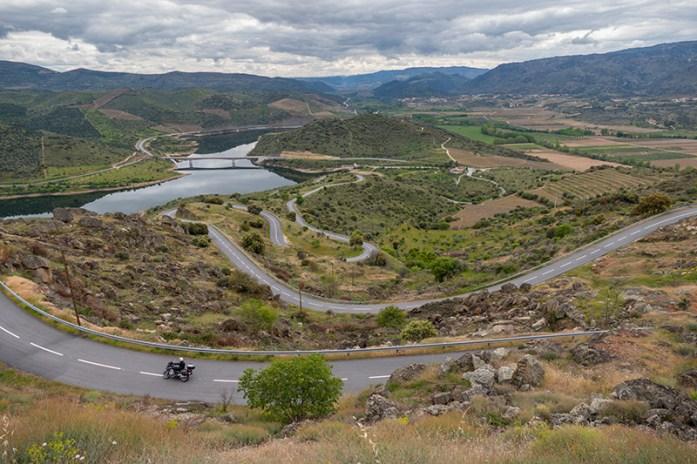 andar de mota no Norte de Portugal