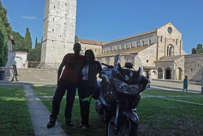 SR352 Grado a Aquileia, Itália