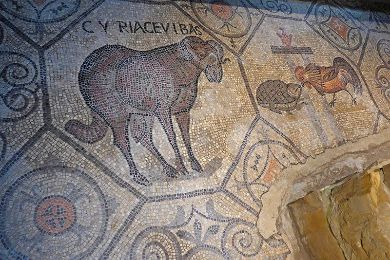 Mosaicos romanos da Basilica di Santa Maria Assunta, Aquileia