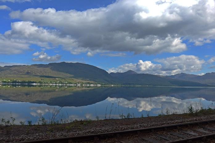 Loch Carron, NC500, Highlands