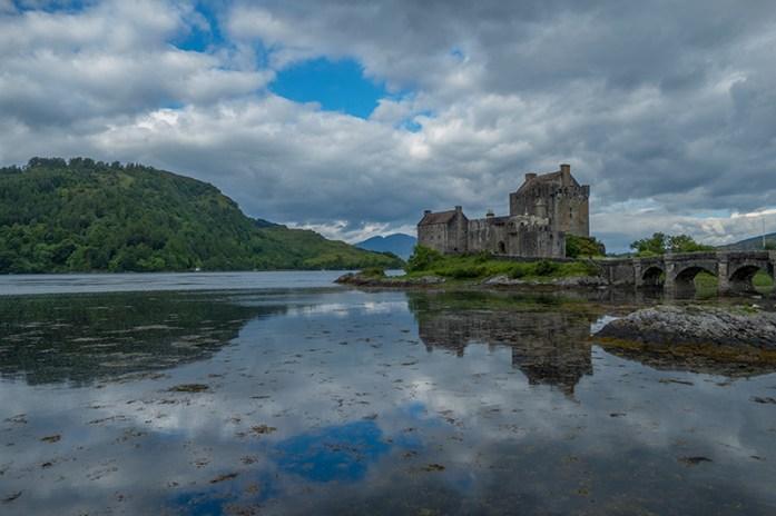 Eilean Donan Castle, A87, Terras Altas da Escócia