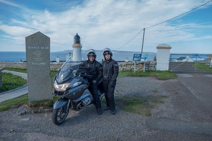 Dunnet's Head, o ponto mais norte da Escócia