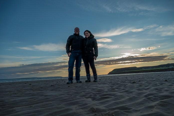 Dunnet Beach, Highlands, NC500, Escócia